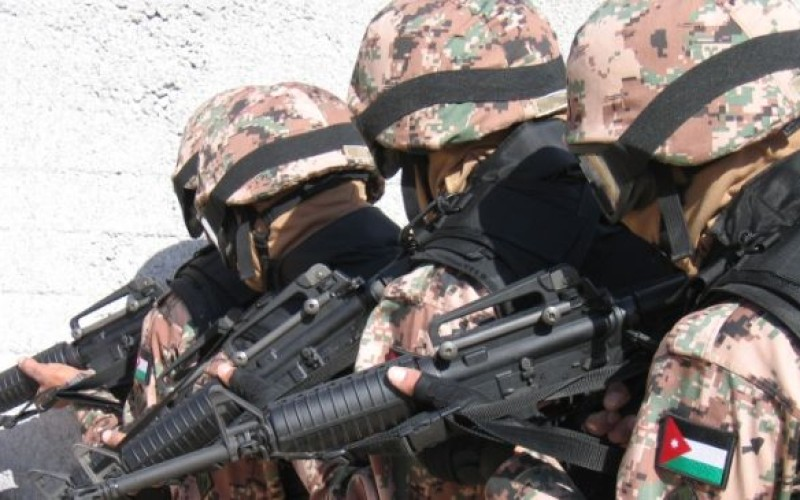 Jordanian Army Destroys Two Syrian Border Outposts