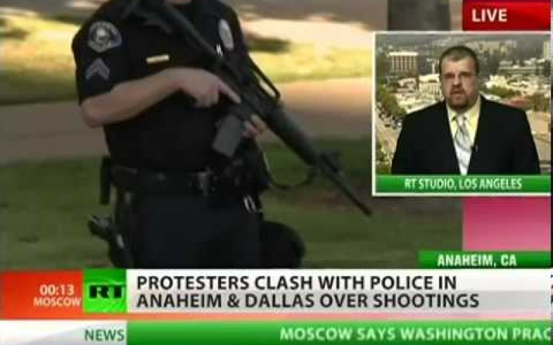 Anaheim Riots Day 4: Police Now Shooting Journalists
