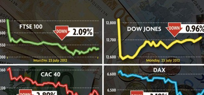 EU Begs For A Bailout As Stocks Crash And The Euro Tumbles