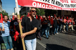 Athens Riot Rage: Protesters Throw Firebombs, Police Shoot Tear Gas