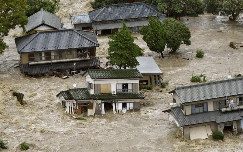 Fukushima Leaks Hundreds of Tons of Radioactive Water – 240 Contaminated Waste Bags After Typhoon Etau Hits Japan