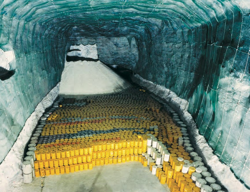 What Does 2,853 Containers Of Nuclear Waste Look Like On Paper
