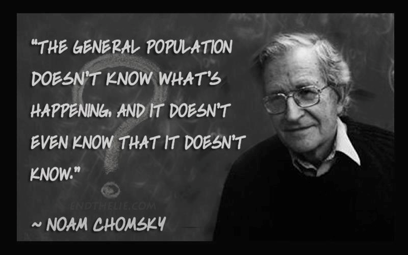 Noam Chomsky: Your Opinion Has No Detectable Influence On The Policies Of Your Elected Representatives