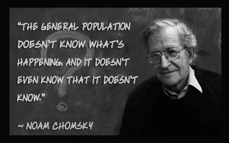 Noam Chomsky Your Opinion Has No Detectable Influence On The Policies Of Your Elected Representatives