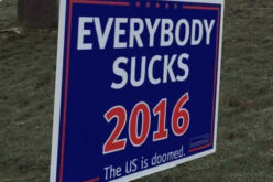 Non-Compliance With a Fraudulent System, Why I'm Not Voting For The Lesser Of Two Evils