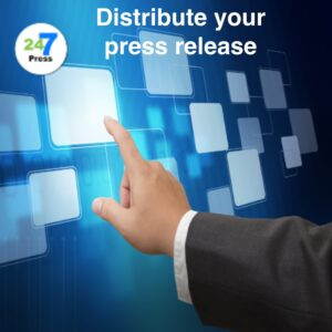 You provide the press release, and we distribute to the world