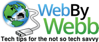 WebByWebb.com gives tech advice for the not so tech savvy