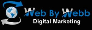 Web By Webb Digital Marketing offering SEO services and social media management.