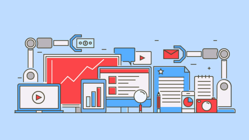 Marketing Automation process in creative tinge