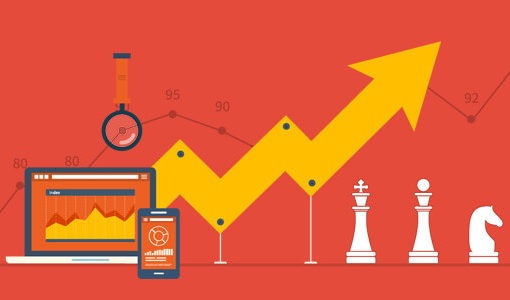 Growth Hacking Strategies Abstract Art