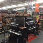Traeger Grills Section