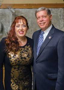 Captain: Mary Grace Knapp and  Mandeville Mayor: Donald Villere