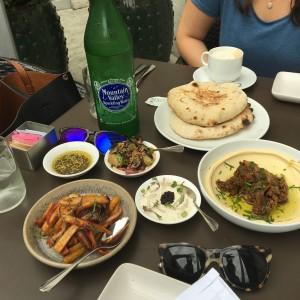 Small plate feast at Shaya, Photo by Maggie Robert, Babes and Beignets