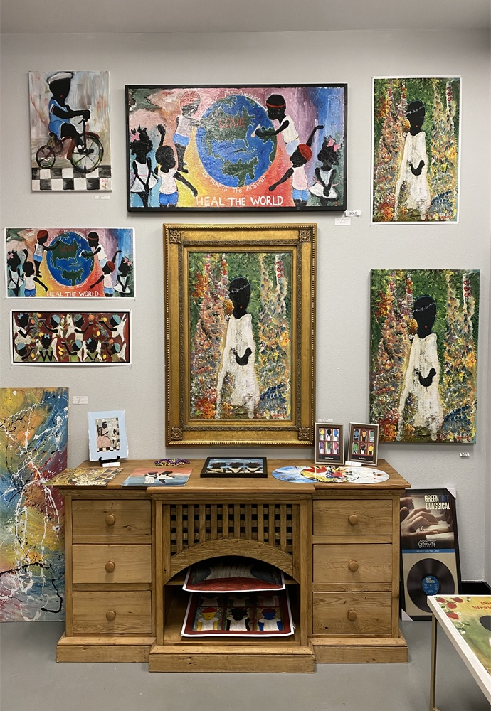 Collection of Hemmerling Artwork