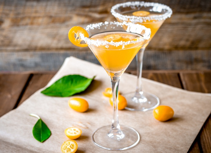 April Cocktails Kumquat