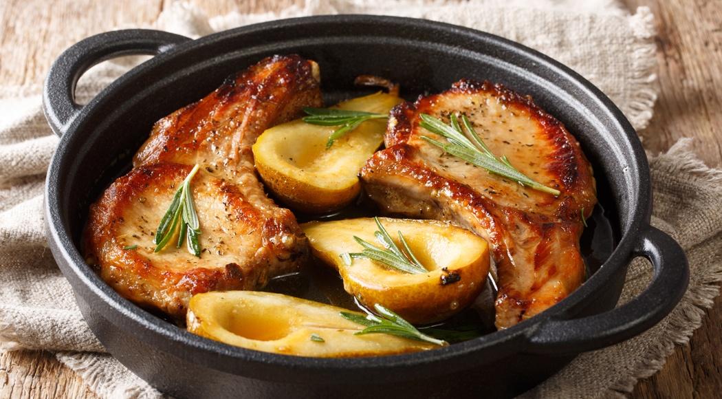 Pork Chop and Pear Recipe