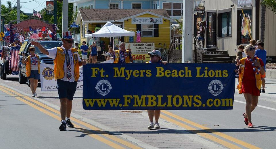 FMB Lions in Parade