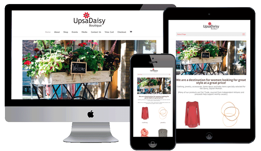 Boutique Store with eCommerce