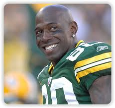 The perpetual smile of Green Bay Packers WR Donald Driver