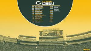 packers 2013 schedule
