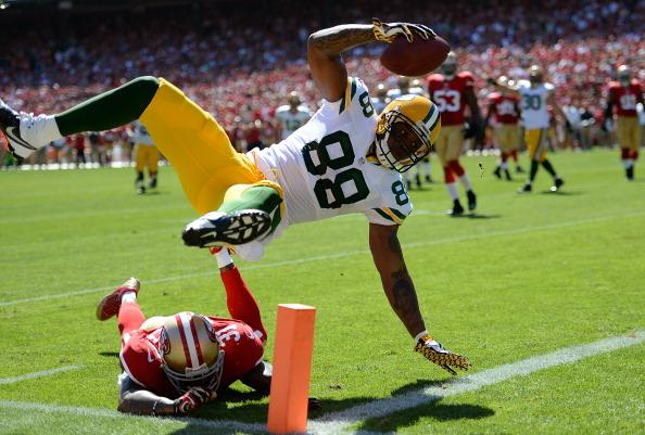 Jermichael FInley is too fast for a linebacker and too big for a defensive back.