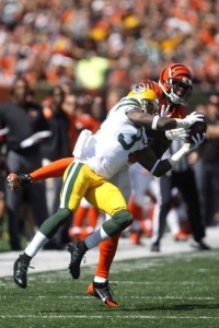 Sam Shields is only one of three guys to have an interception for the Packers this year.