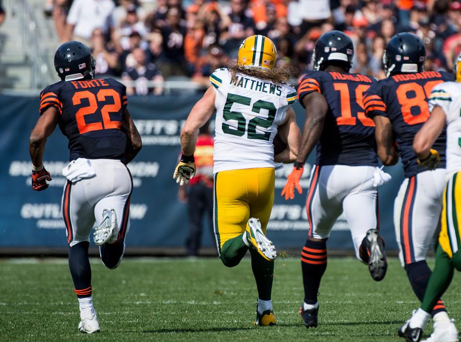 Packers vs Bears in 3...2...1...