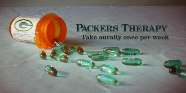 """Packers Therapy #379: """"UP"""" Next: Packers Rams @ Home"""