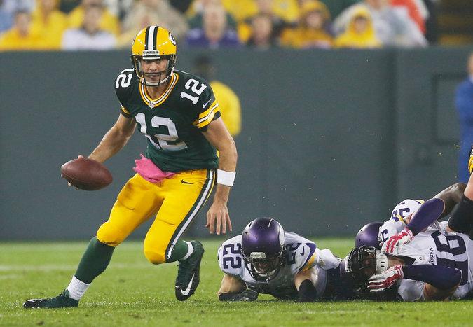 Aaron Rodgers vs. Minnesota Vikings