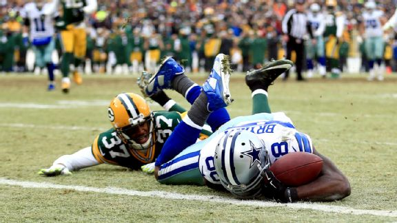 Packers Cowboys catch reversaL Dez Bryant