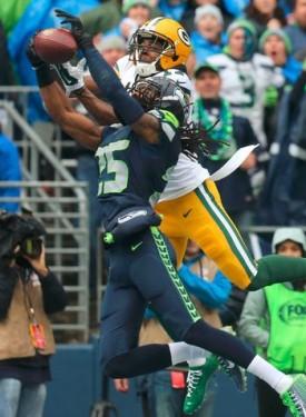 Richard Sherman Interception vs. Green Bay Packers