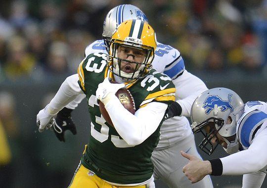Packers' Defender and Returner Micah Hyde
