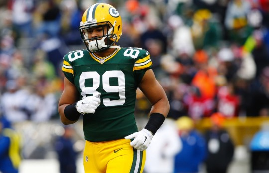 Packers Tight End Richard Rodgers