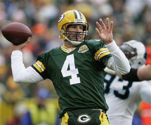 Packers QB Brett Favre - Packers History