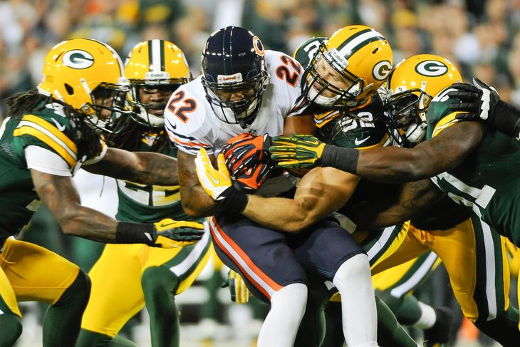 Matt Forte vs. Packers