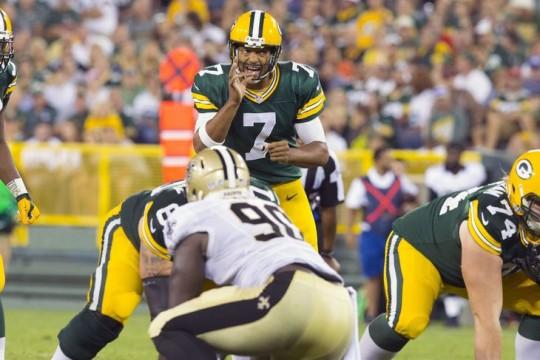 Packers Quarterback Brett Hundley