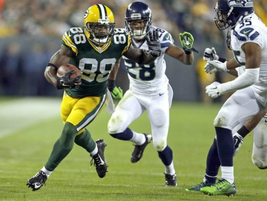 Packers Wide Receiver Ty Montgomery