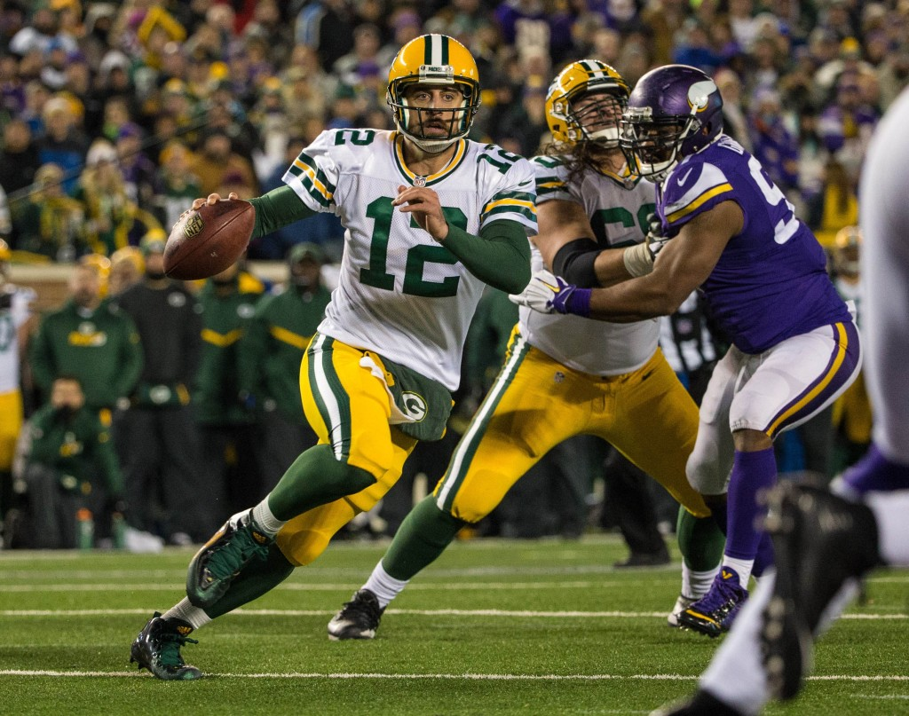 What should we expect from Green Bay Packers QB Aaron Rodgers on Sunday?