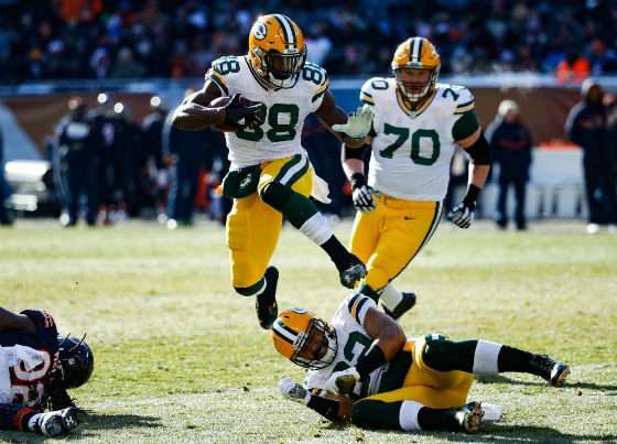 Packers RB Ty Montgomery