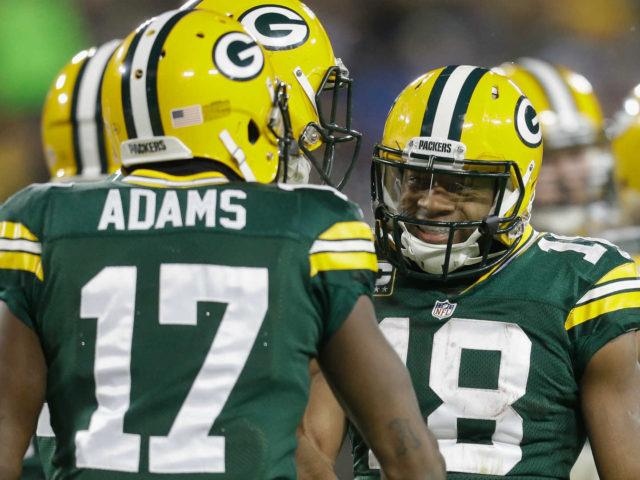 Packers' WRs Davante Adams and Randall Cobb
