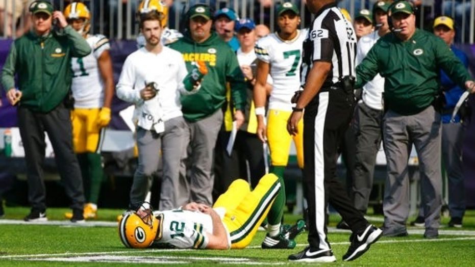 Barr's Hit on Rodgers puts Packers Season on Life Support