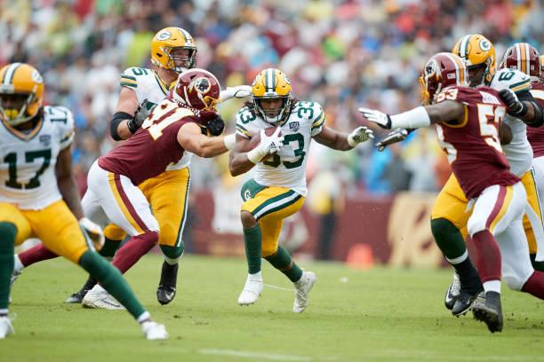 Packers' RB Aaron Jones
