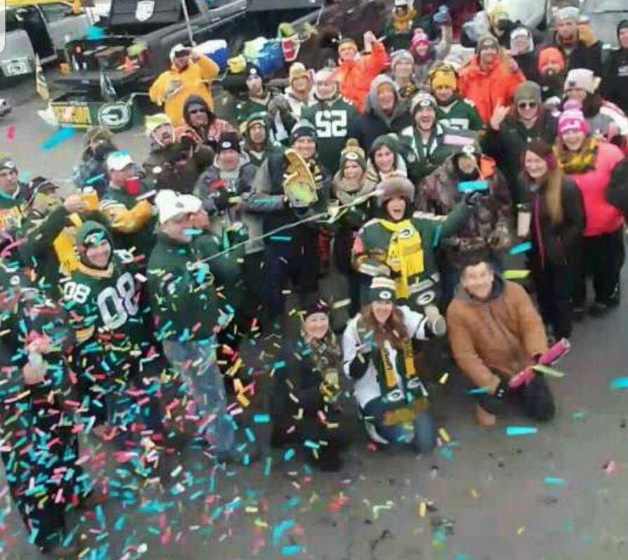 Green Bay Packers: Cheers!