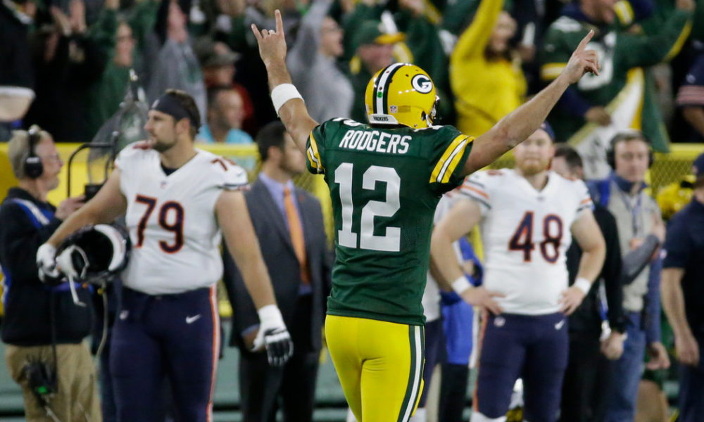 'I still own you': 5 times Packers QB Aaron Rodgers owned the Bears