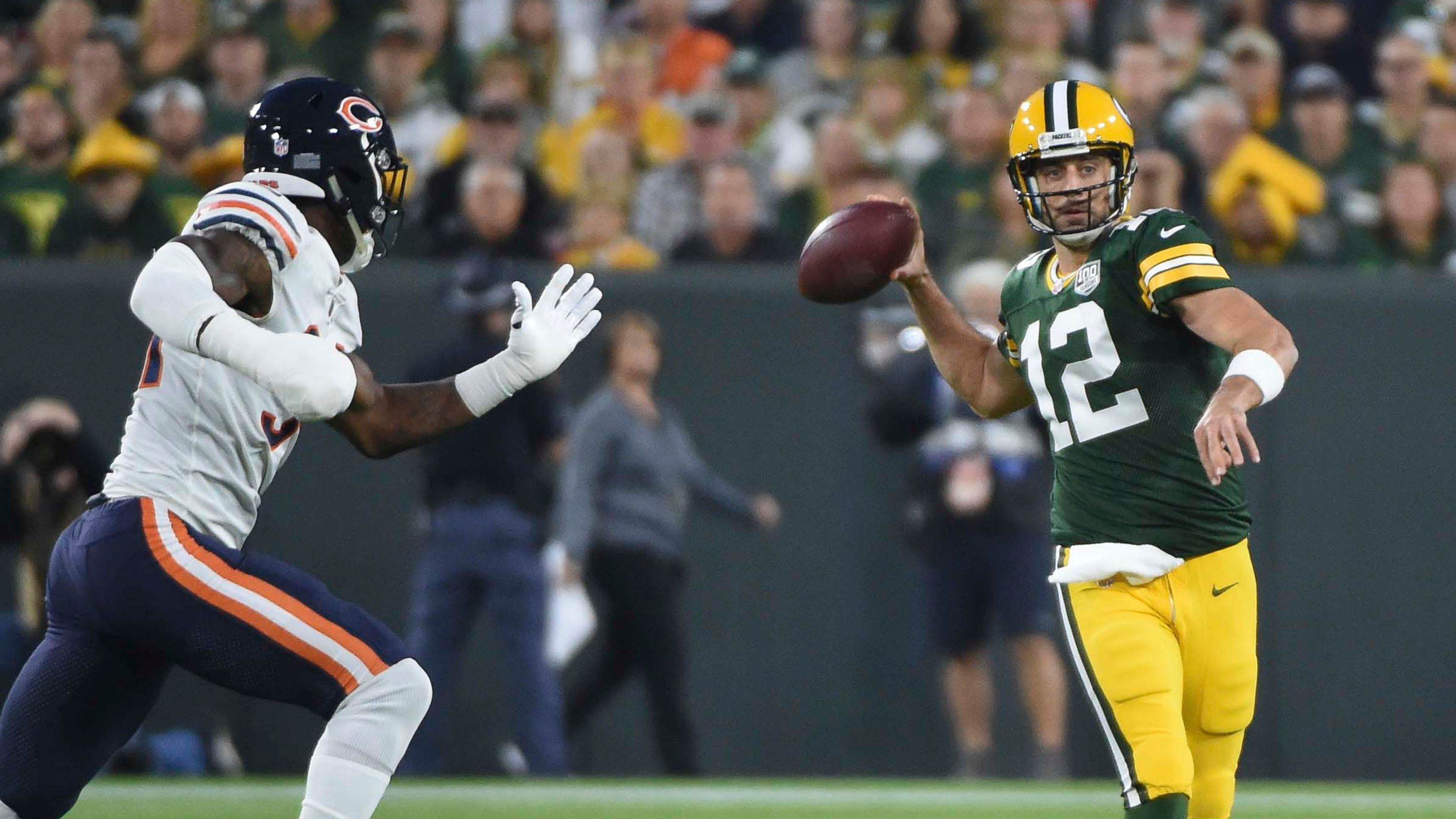 Packers vs Bears to Kick-Off NFL's 100th Season