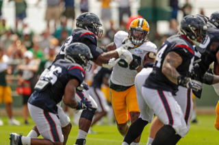 Packers vs Texans Practice? Rd 1.