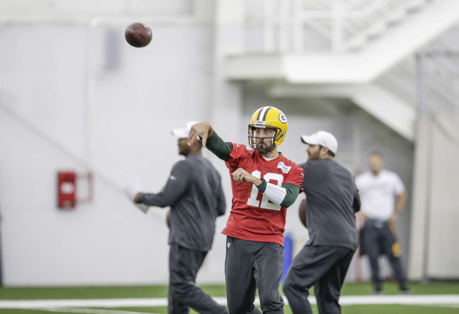 Back to School for Aaron Rodgers