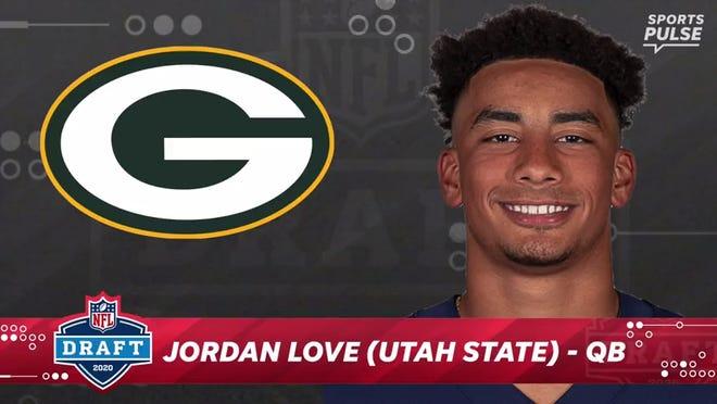BREAKING: Green Bay Packers select Jordan Love, QB, Utah State 26th overall