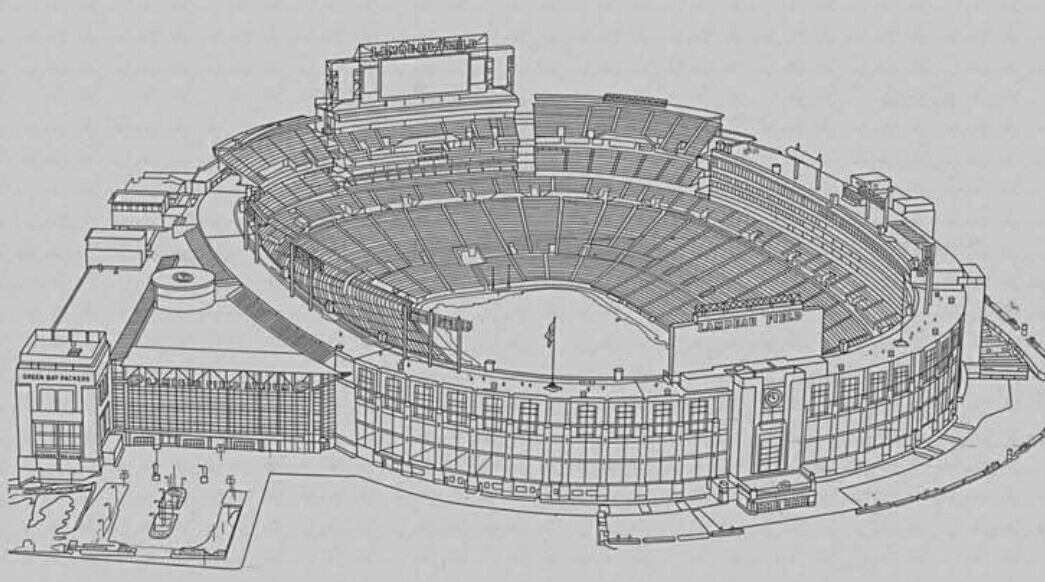 Green Bay Packers: Row 54