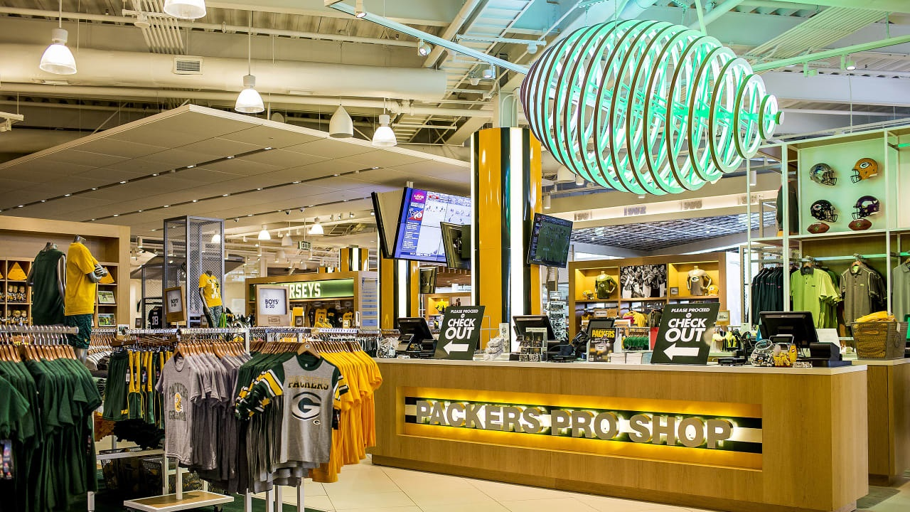Packers Pro Shop and Hall of Fame now open